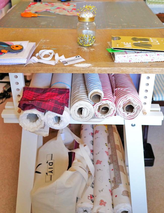 Sewing Space Tours... Sophia's Dorset Dream!
