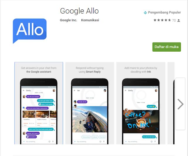 Google Allo Social Media Lebih Produktif dan Ekspresif