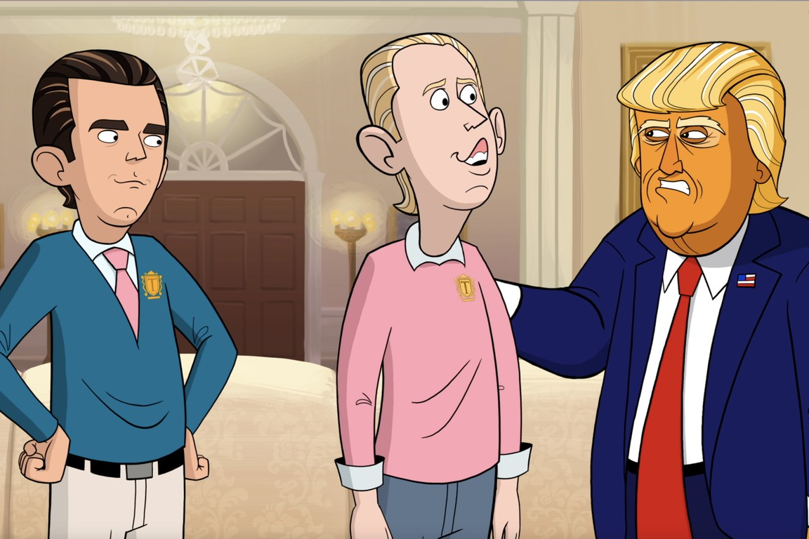 Our Cartoon President - Season 1 Episode 01: State of the Union