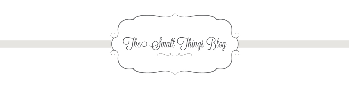 The Small Things Blog