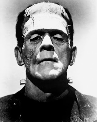 Boris Karloff as Frankenstein's Monster.