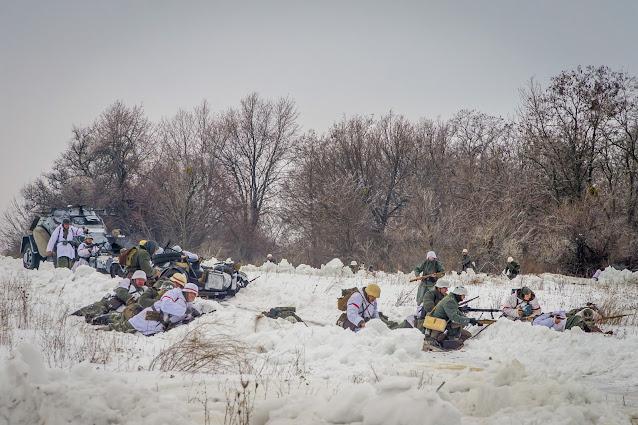 Реконструкция боя при Соколово 9.03.2018 - 33