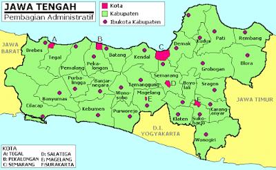 Daftar Lowongan Kerja Propinsi Jawa Tengah Terbaru