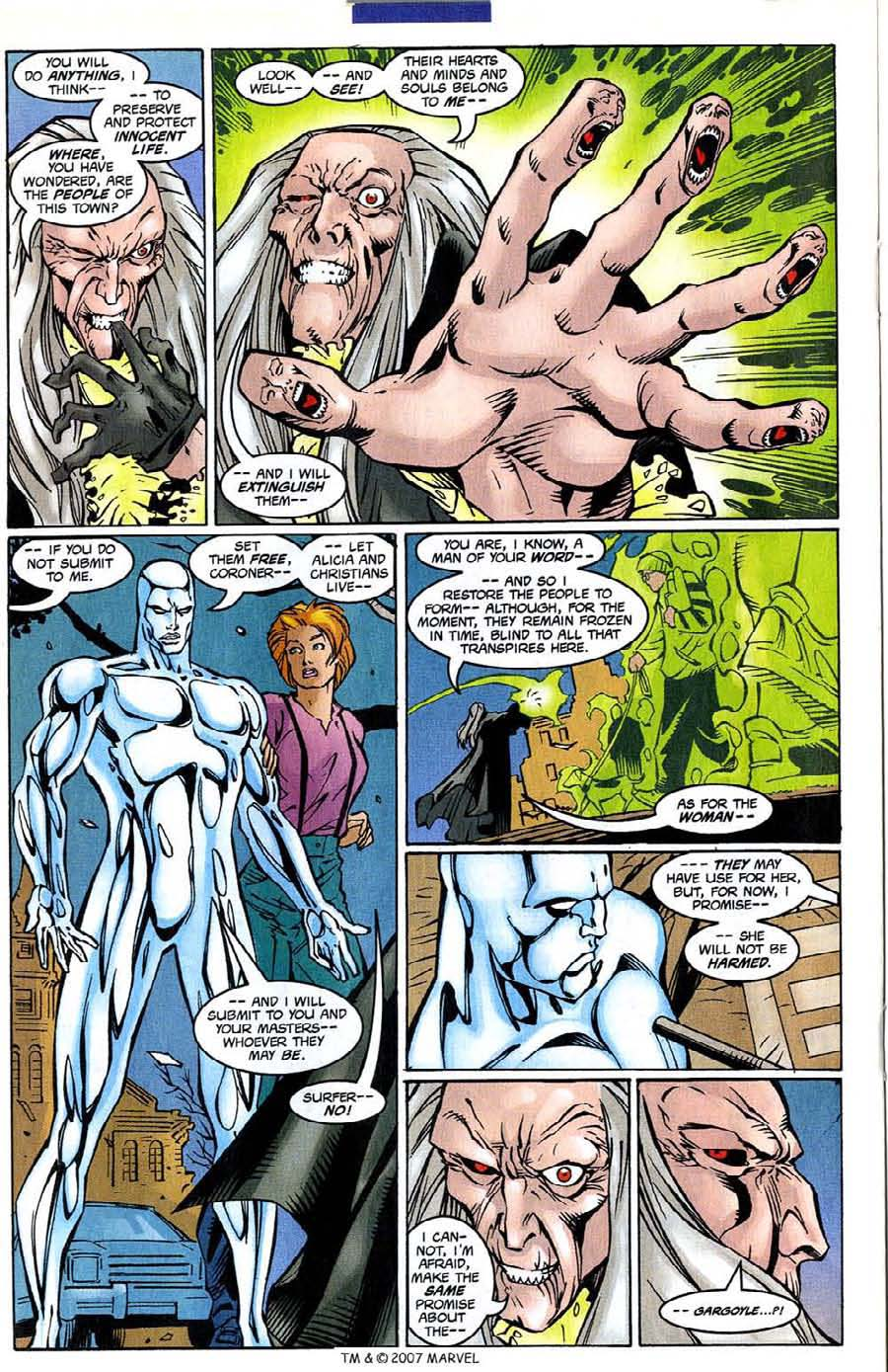 Read online Silver Surfer (1987) comic -  Issue #139 - 24