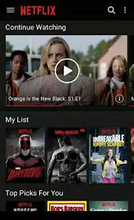 Aplikasi Netflix