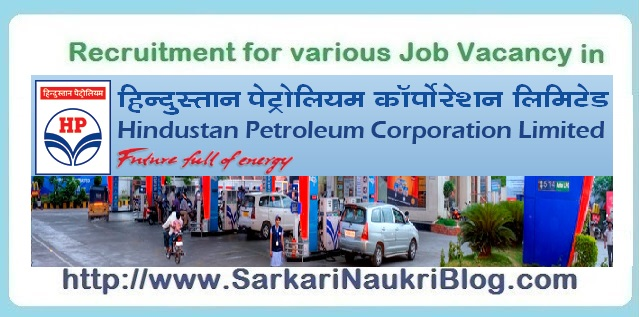 Naukri Vacancy Recruitment Hindustan Petroleum HPCL