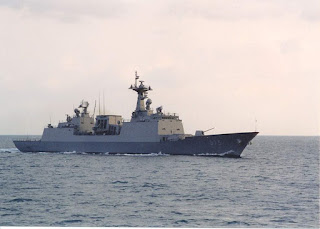 South Korea deploys KDX-2 destroyer to Ghana on rescue mission
