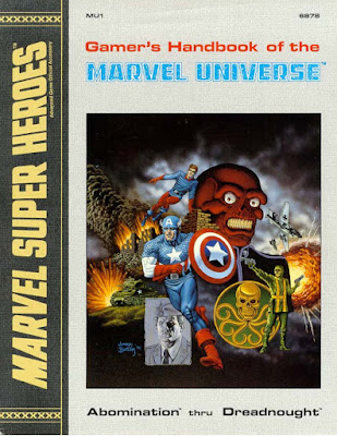 RPG Marvel Universe Handbook