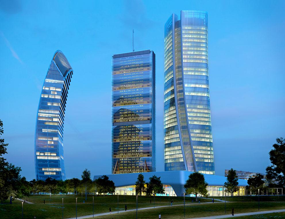 Io sono milano skyline citylife for Quartiere city life