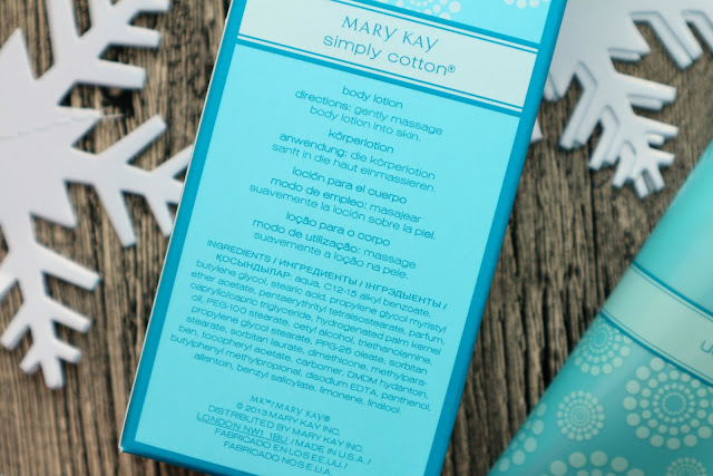 Mary Kay Simply Cotton Лосьон для тела