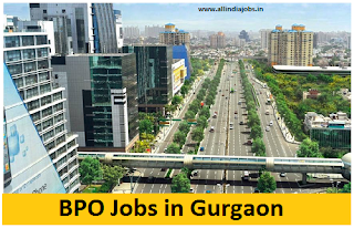 BPO Jobs in Gurgaon