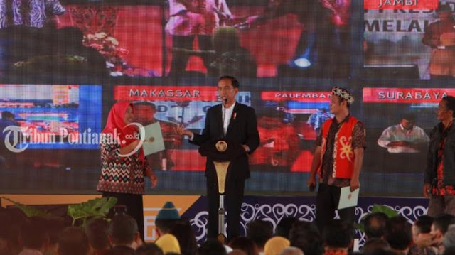 Jokowi Berikan Masukan Kepada Warga Kalimantan Barat Jelang Pilkada 2018