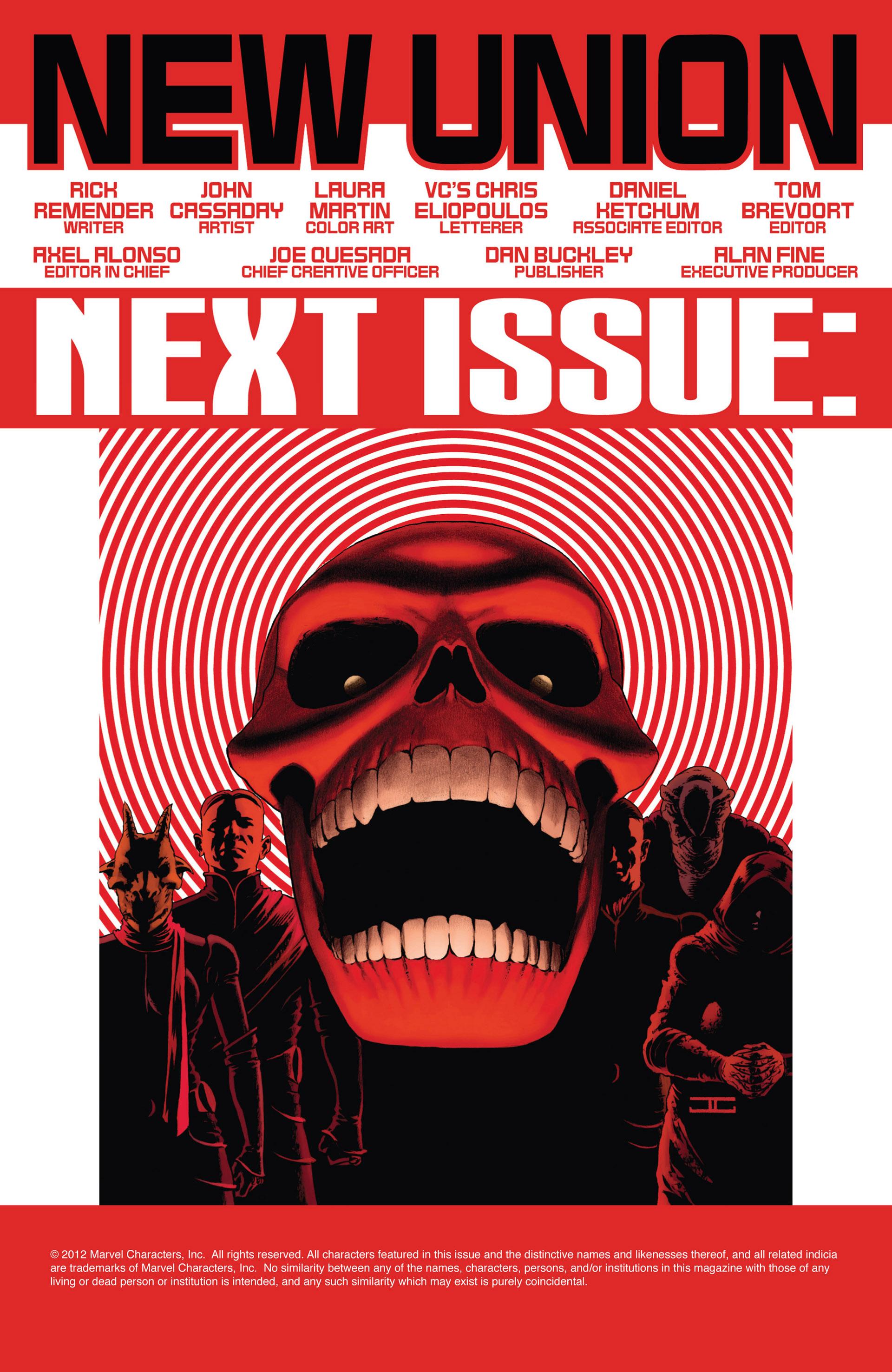Read online Uncanny Avengers (2012) comic -  Issue #1 - 23