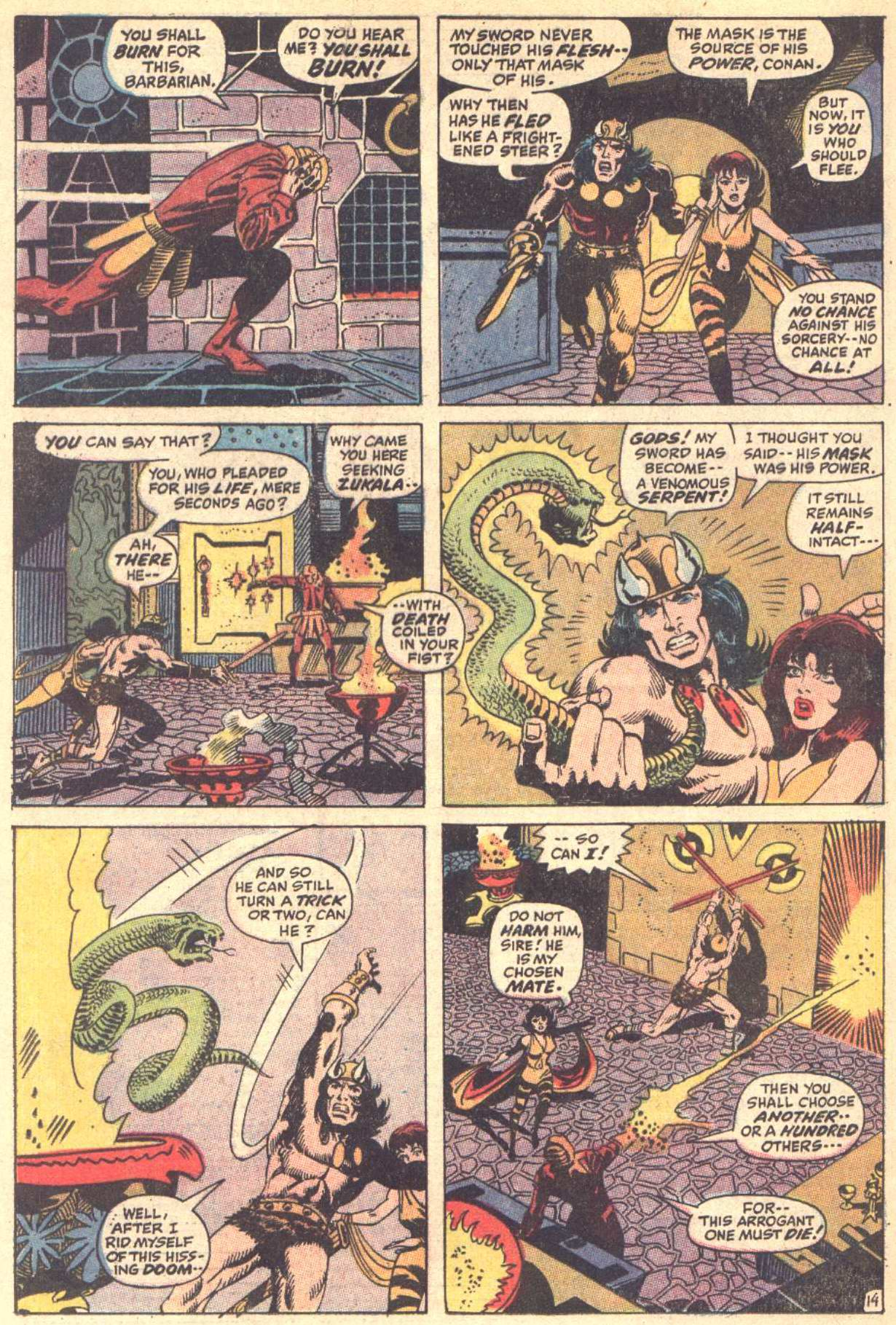 Conan the Barbarian (1970) Issue #5 #17 - English 15
