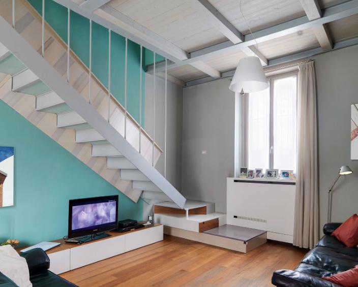 Desain Tangga Rumah Minimalis Ukuran Kecil Terbaru 2019