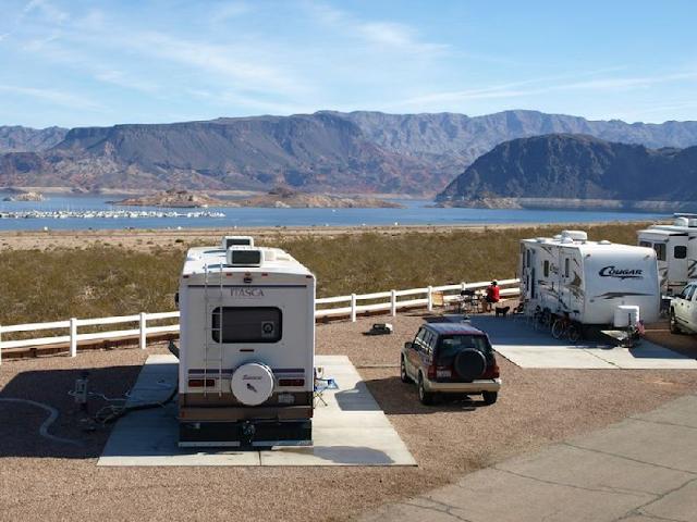 Marinas e Praias do Lago Mead em Las Vegas