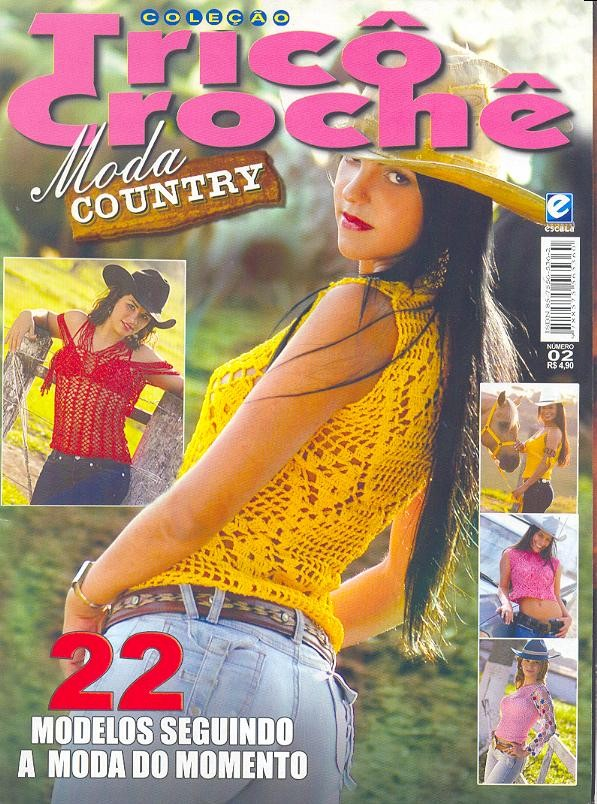 Tricô & Crochê-Revista