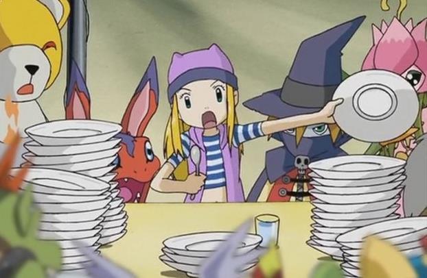 Izumi Orimoto (Digimon Frontier) - Karakter Anime Perempuan Paling Rakus dan Cantik