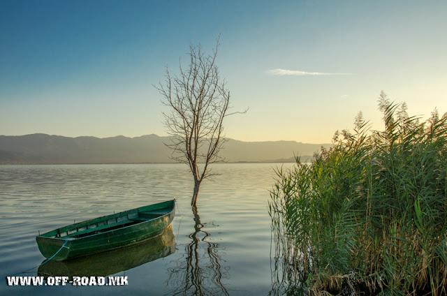 Dojran Lake, Macedonia - sunrise scene