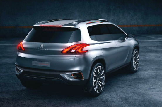 2012 peugeot urban crossover