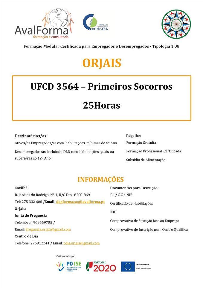 formação financiada em Orjais