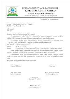 contoh surat permohonan TERBENAR DAN TERLENGKAP