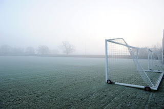 [Photo] How The Arsenal Training Ground Looks This Morning.