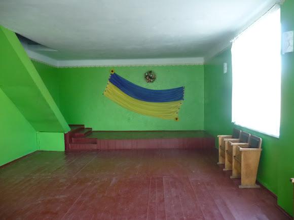 Задеревач, Украина. Дом культуры