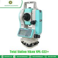 JUAL TOTAL STATION NIKON NPL 322P BERAU | HARGA SPESIFIKASI | GARANSI RESMI | FREE TRAINING