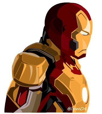 Vector Art: Iron Man