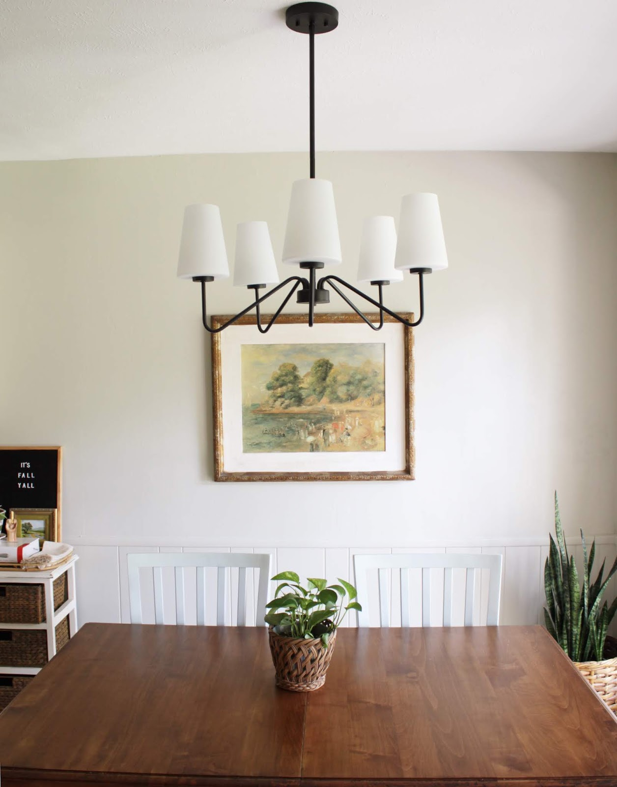 How to paint a light fixture | House Homemade