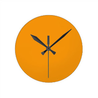 Turmeric wall clock
