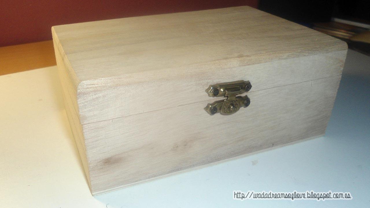 Dreams of love decorar una caja en forma de libro caja - Cajas madera baratas ...