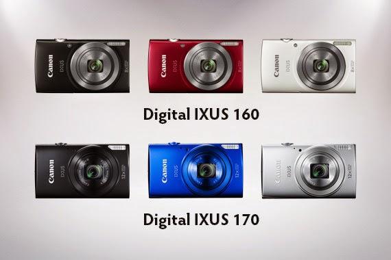 Harga Kamera Digital Canon IXUS 170 & 160 Terbaru 2017