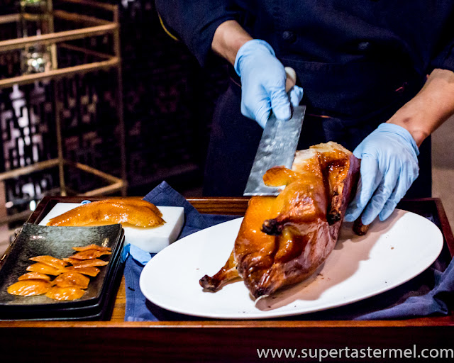mott 32 apple wood roasted peking duck