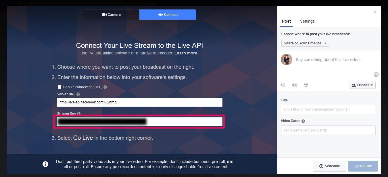 Facebook / Youtube Live Stream Using FFmpeg - Nwe Yoe