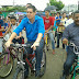 Irmão Lailton participa de passeio ciclístico em Frexeiras