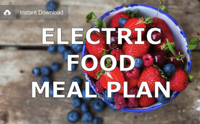 Electric Foods Meal Plan alkaline vegan dr. sebi