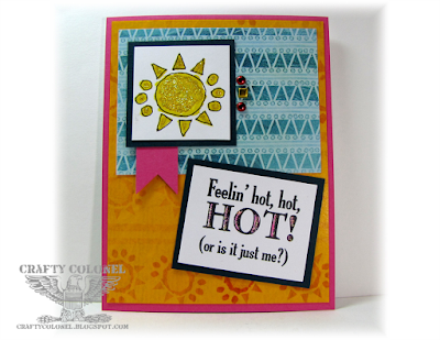 Crafty Colonel Donna Nuce for Cards in Envy Challenge, Club Scrap Cantina Kit