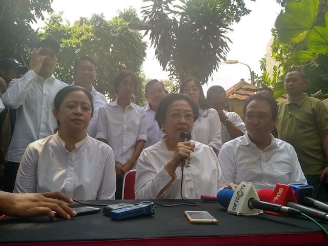 Megawati: Terima Kasih Prabowo Minta Pendukung Tak Terprovokasi