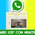 Come mandare gif con whatsapp su Android