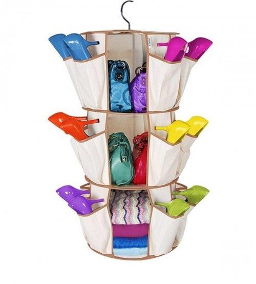 25 ideas para organizar el calzado en tu hogar