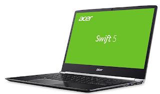 Spesifikasi dan Harga Acer Swift 5 SF514-51-59AV