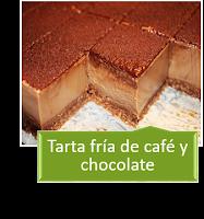 TARTA DE CAFE Y CHOCOLATE {SIN HORNO}