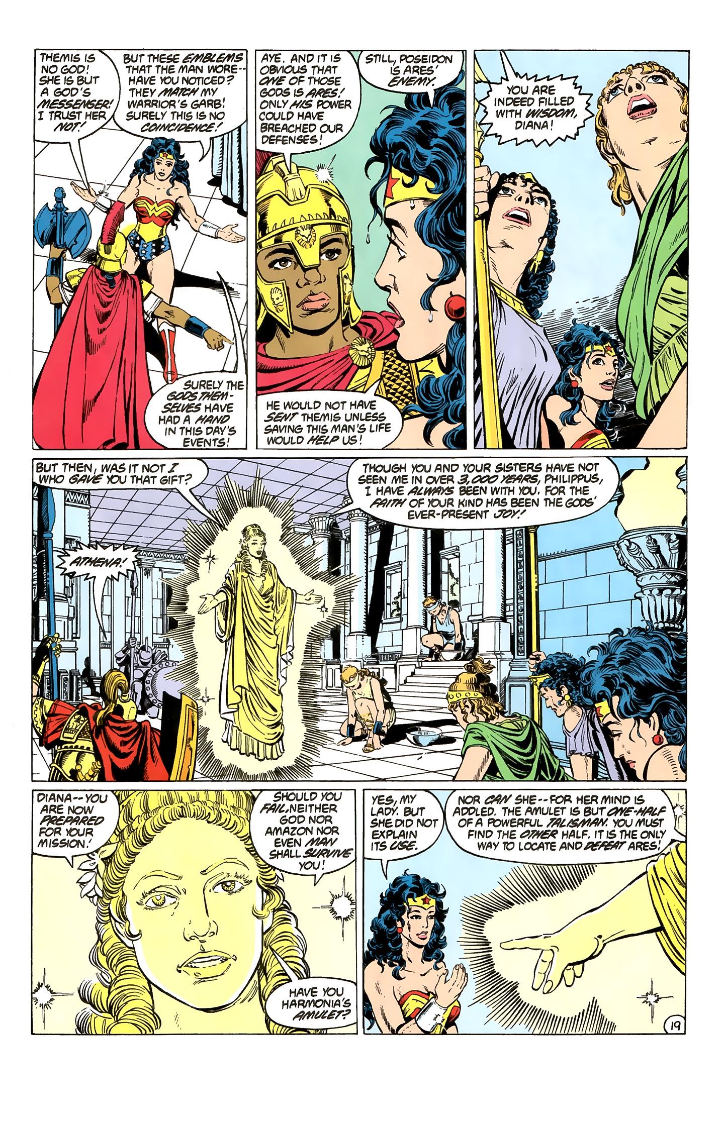 Read online Wonder Woman (1987) comic -  Issue #2 - 20