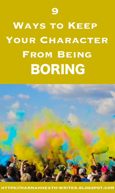9 Ways to Keep Your Character From Being Boring