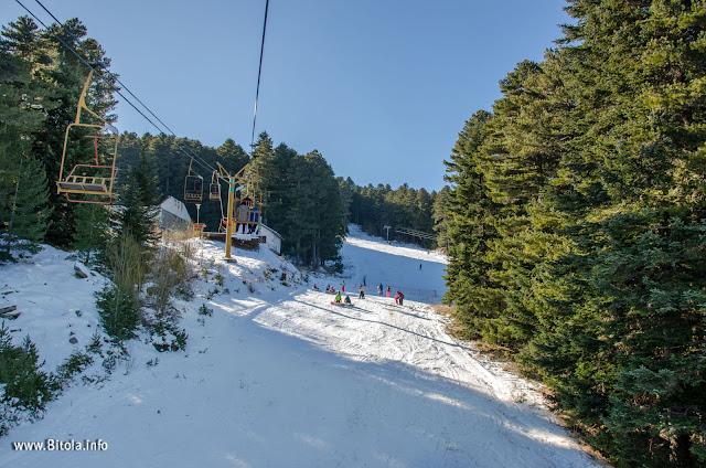 Kopanki ski Center – National park Pelister, Macedonia