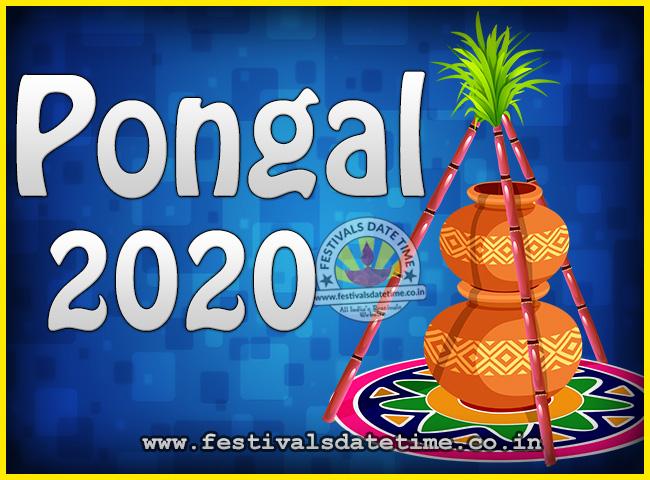Pongal 2020 Tamil Calendar 2020 Pongal Festival Date & Time, 2020 Thai Pongal Calendar