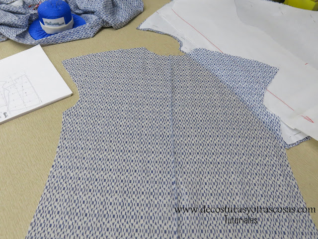 espalda cosida con costura francesa