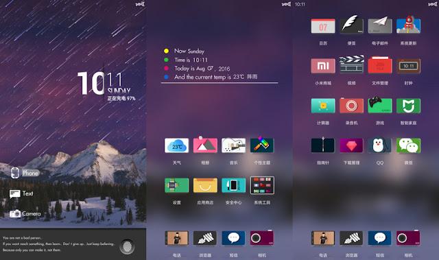 Berminat Punya Tampilan UI Xiaomi Anti Mainstream? Coba Theme Purple Rain V8 Ini: Dijamin Keren!